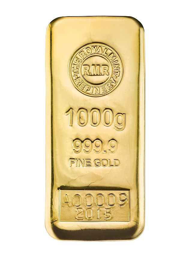 Royal Mint sells 1KG gold bullion bars – at £25,000 - Telegraph
