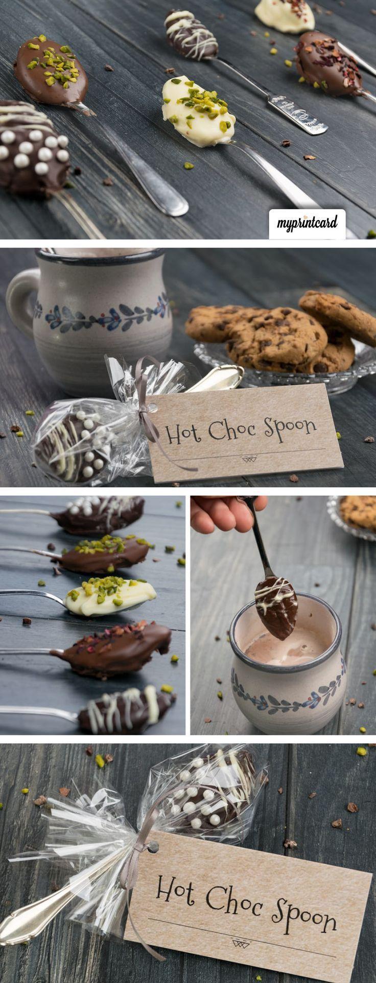 Trinkschokolade am Stiel – Das Gastgeschenk zum Selbermachen