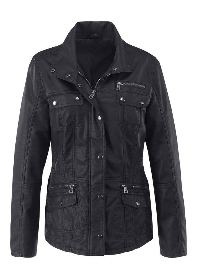 Mainpol Jacke in cognac   Leather jackets   Leather jacket