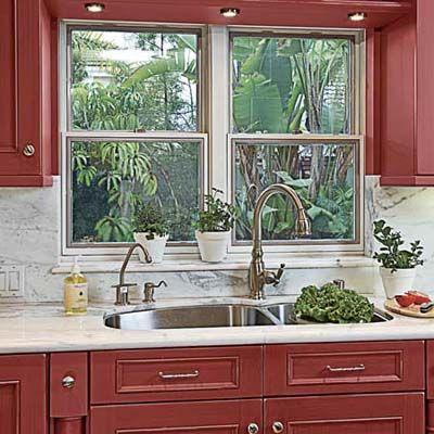 21 best lighting over kitchen sink images on Pinterest | Kitchen ...