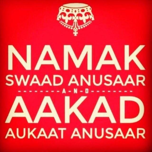 aukat attitude status in hindi Namak SWAD anusar, Akad AUKAT anusar ...