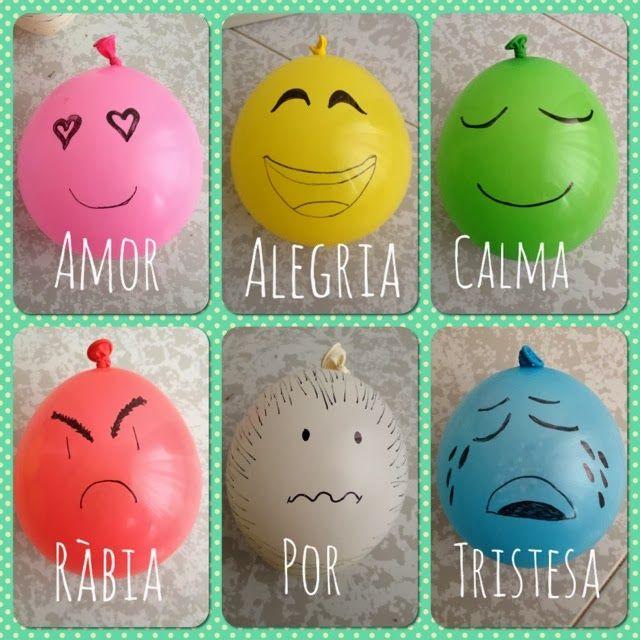 Globus emocionals! Entra al blog i descobreix les activitats! #educació #emocional