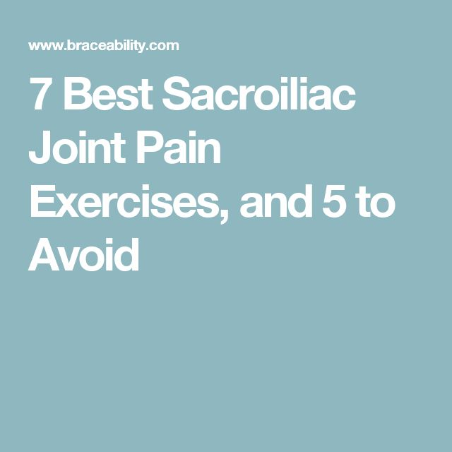 Spondylolisthesis Exercises To Avoid