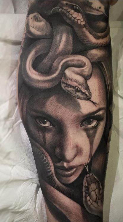 Great Medusa Tattoo