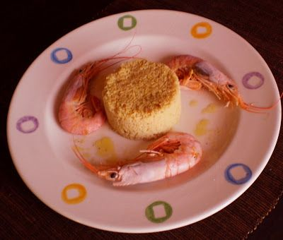 Gourmet Food Lovers: FLAVORED ARABIAN COUS COUS WITH SHRIMPS AND HONEY-LEMON SAUCE | ΑΡΩΜΑΤΙΚΟ ΑΡΑΒΙΚΟ ΚΟΥΣ ΚΟΥΣ ΜΕ ΓΑΡΙΔΕΣ ΚΑΙ ΜΕΛΕΝΙΑ...