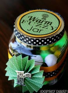 First Grade Magic  Warm fuzzy jar Warm fuzziness are added when class is doing well or receives compliments, reward when jar is full