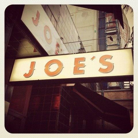 Joe's Bar - welcome