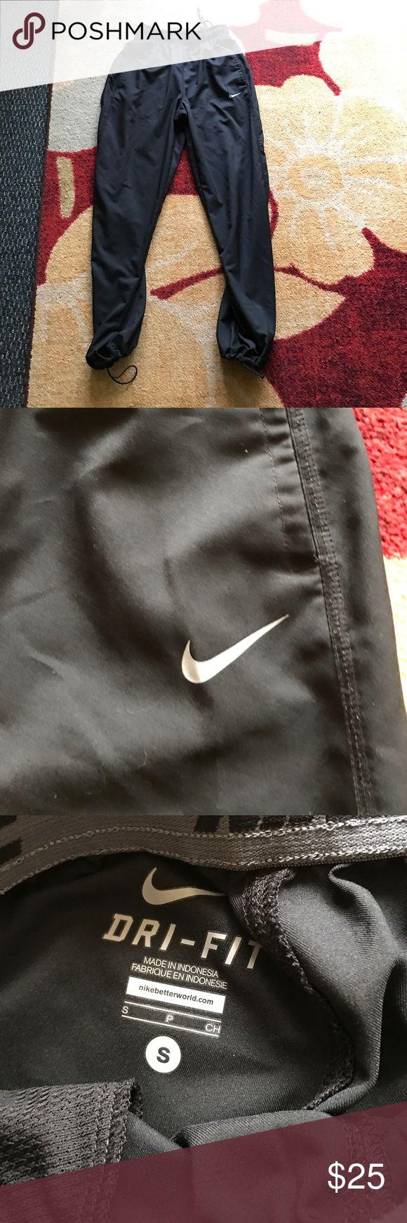 Black nike dri-fit sweat pants Black nike dri-fit Nike sweatpants Nike Pants Sweatpants & Joggers
