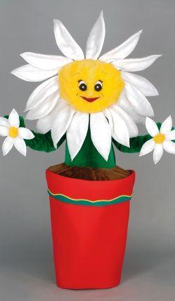 Mascotte Pot De Fleur