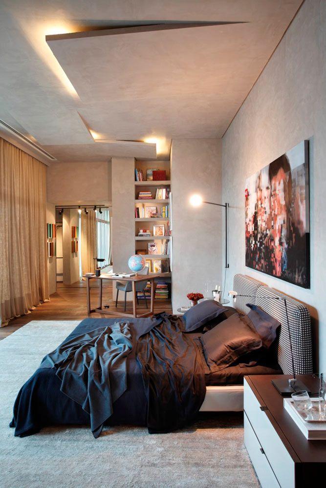 'Casa Cor Rio de Janeiro' | this cozy master suite | Gisele Taranto