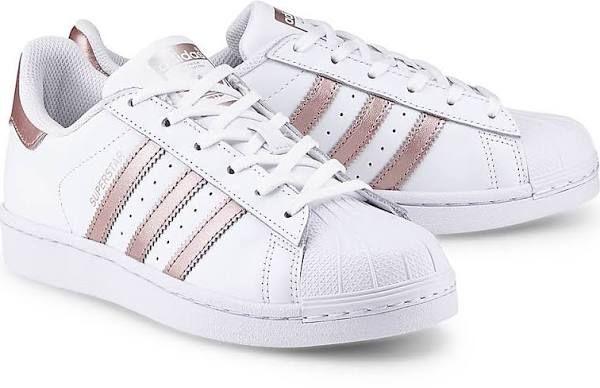 Adidas Originals, Sneaker Superstar in weiß, Sneaker für Damen Gr. 40