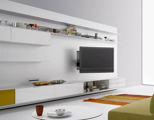 Wall Mounted Modern Tv Cabinets For Small Living Room Designs Elevenfive  White Minimalist Wall System Modern Tv Cabinet Design By Mdf Italia U2013 Home  Designs ... Part 97