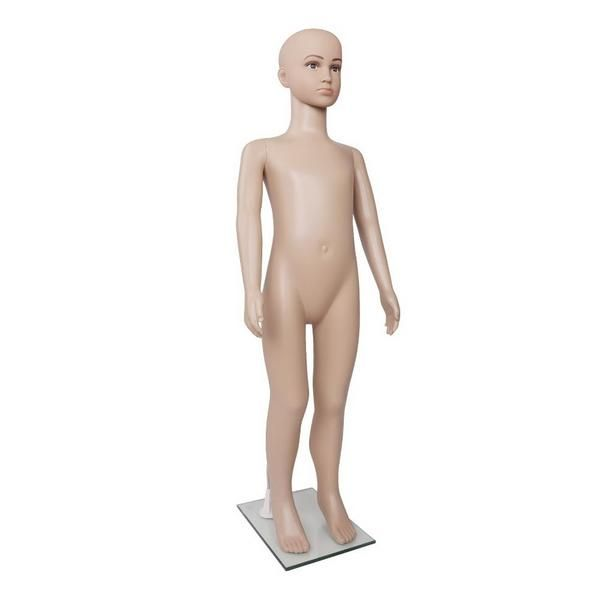 Vendor: DSV Type: None Price: 63.99 Child Size Clothing MannequinWith its realistic features, our Child Mannequin comprises the entire body for a real-life dressing up. It comes in four separate parts: head, torso with legs and left and right arms.The head and arms can be rotated 360while the head has a vertical up/down adjustment of up to 360. Use the Mannequin to display anything from clothes to fashion accessories and everything else in between.Made of eco-friendly PP material, the…