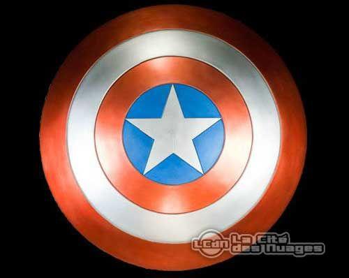 The Avengers Réplique Bouclier de Captain America 1/1 limited edition EFX