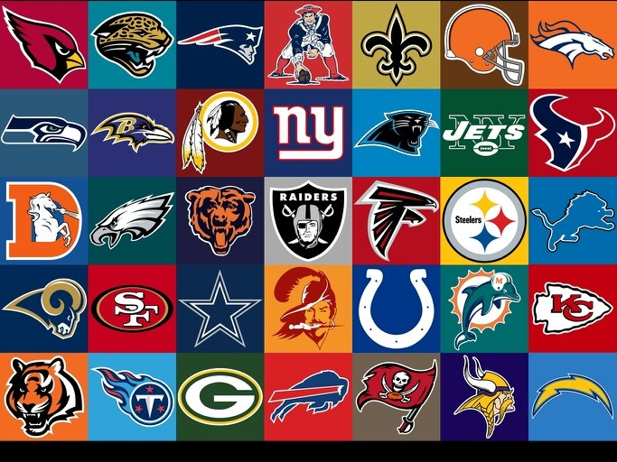 NFL teams. I know there are three extra old team logos