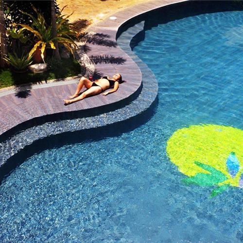 Een heerlijk zwembad toch?