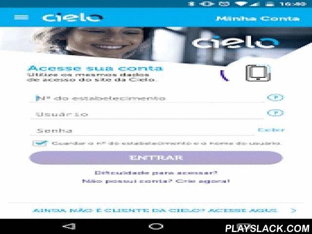 Cielo  Android App - playslack.com ,  O aplicativo é gratuito e você tem acesso aos principais serviços da Cielo na palma da sua mão. Consulte suas vendas e pagamentos ou faça a antecipação em um clique, utilizando o mesmo usuário e senha do nosso site. Tudo isso em qualquer hora, em qualquer lugar, com toda a segurança da Cielo. Mais agilidade e conveniência para você gerenciar o seu negócio diariamente.E mais! Você ainda pode consultar os seus pontos e resgatar prêmios no Programa Cielo…