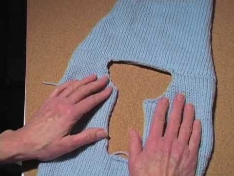 video how to make a sweater (free). Lots of good tips