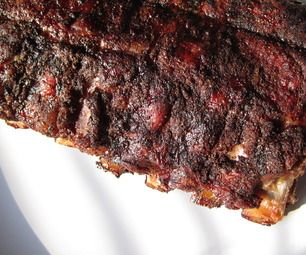 Dry rub ribs. best recipe! so easy! and makes enough rub for 2 racks. I make these ribs about twice a month. We are obsessed!