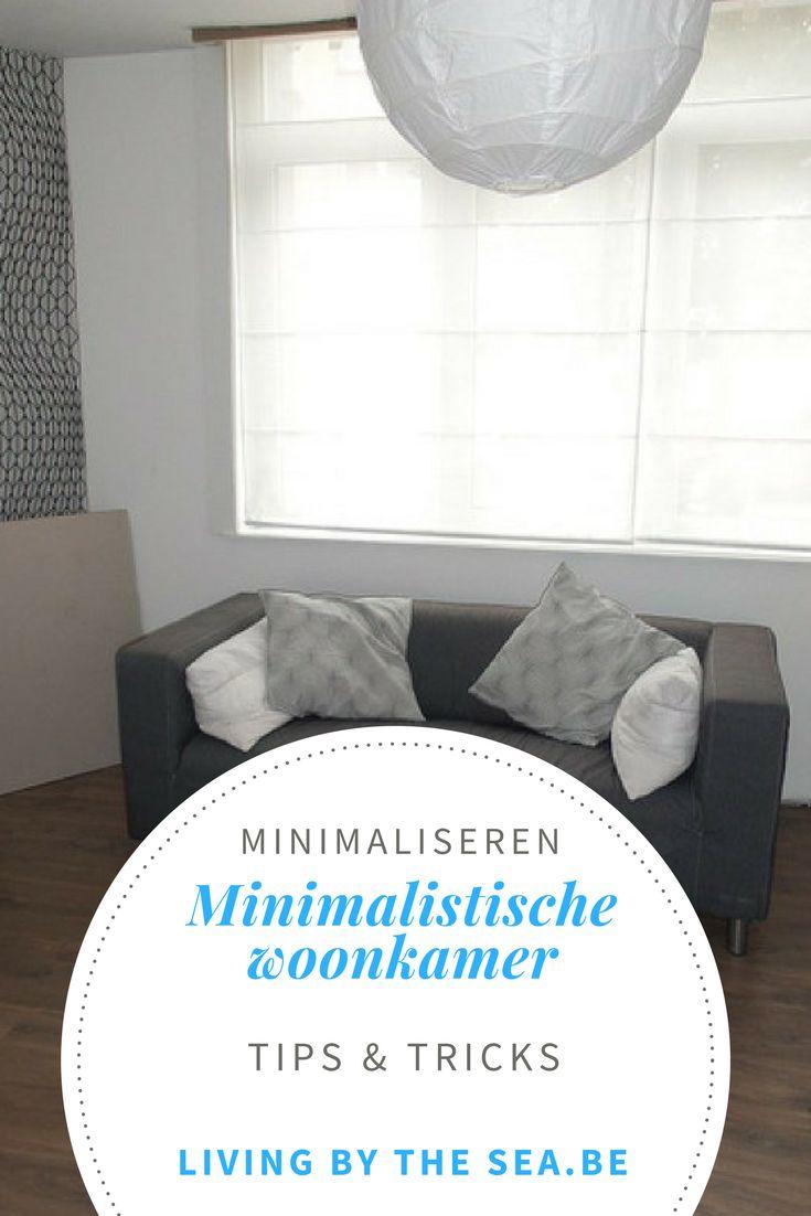 Welke spullen liggen bij jou in de woonkamer? Ik noteerde alles in mijn spullenlijst en geef je hier een kleine blik in mijn minimalistische woonkamer.