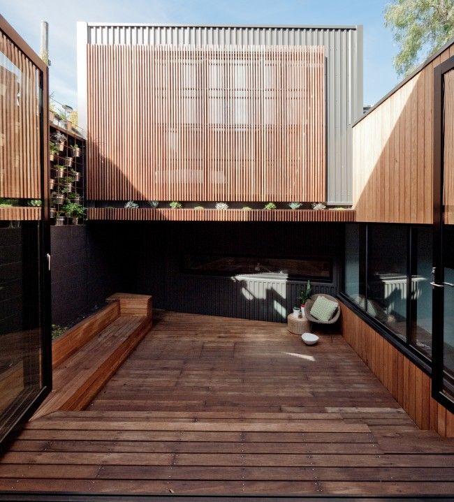 Compact but wonderful inner city Melbourne abode   Designhunter - Australia's best architecture & design blog