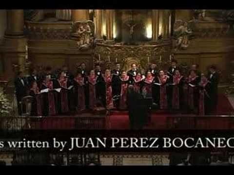 Lima Triumphante sings Hanacpachap cussicuinin