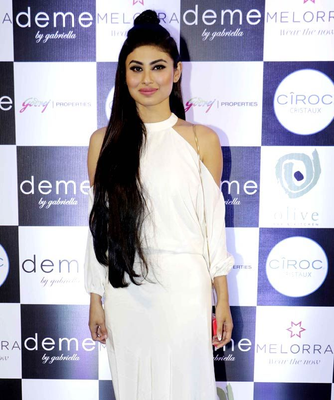 Mouni Roy at a fashion event in Mumbai. #Bollywood #Fashion #Style #Beauty #Hot #Sexy