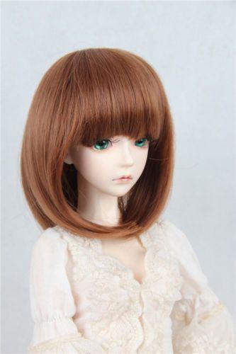 BJD-Doll-Wig-9-10-1-3-SD-DZ-DOD-LUTS-Short-Hair-Dark-Brown