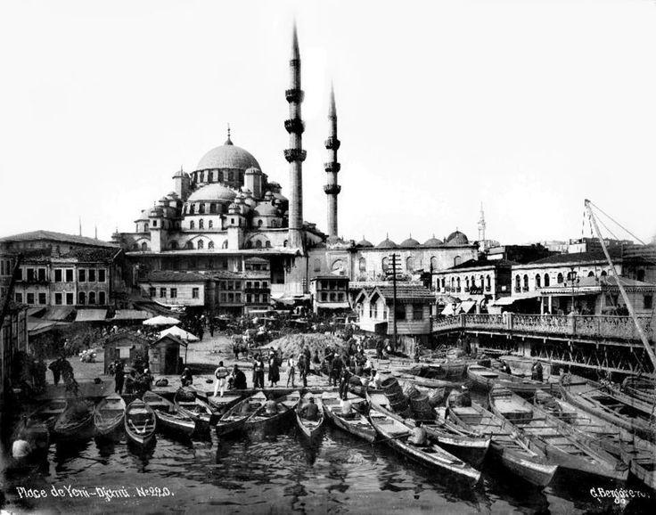 Eminönü Yeni Valide Sultan Camii-1880