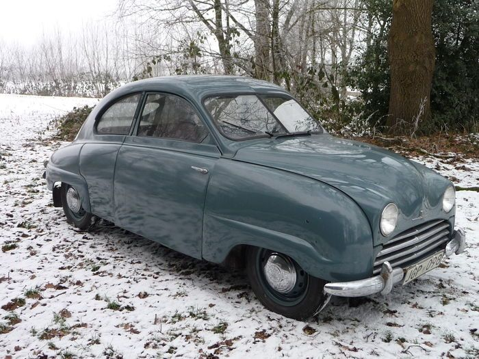 Catawiki online auction house: Saab - 92 B De luxe - 1954