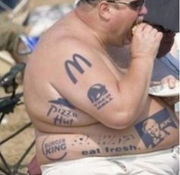 Hopefully all 31 people on this list can take this tattoo's wisdom to heart. Source: 2Day Here's two words this guy has never heard: