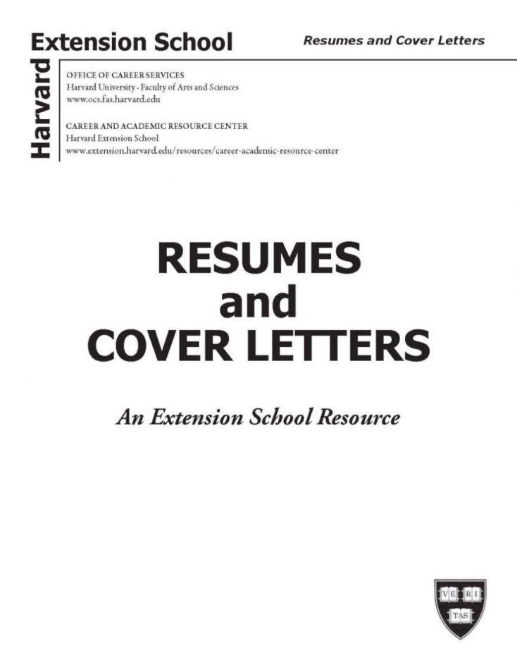 Harvard Mba Resume Book Pdf Ideas