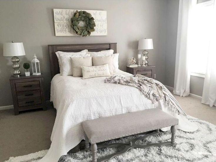 21 Modern Farmhouse Master Bedroom Ideas