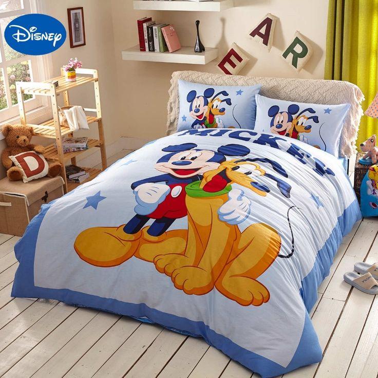 Childrens Bedroom Decor Bedding Sets, Disney Bed Sheets Queen Size