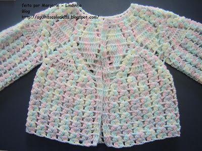 Agulhas Coloridas Croche e Trico: PAP