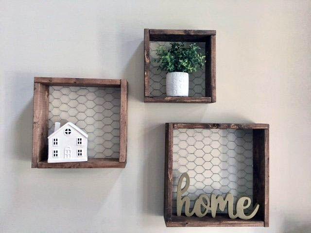 Rustic Wall Decor Ideas To Turn Shabby Into Fabulous Rustic Wall Decor Rustic Frames Handmade Home Decor