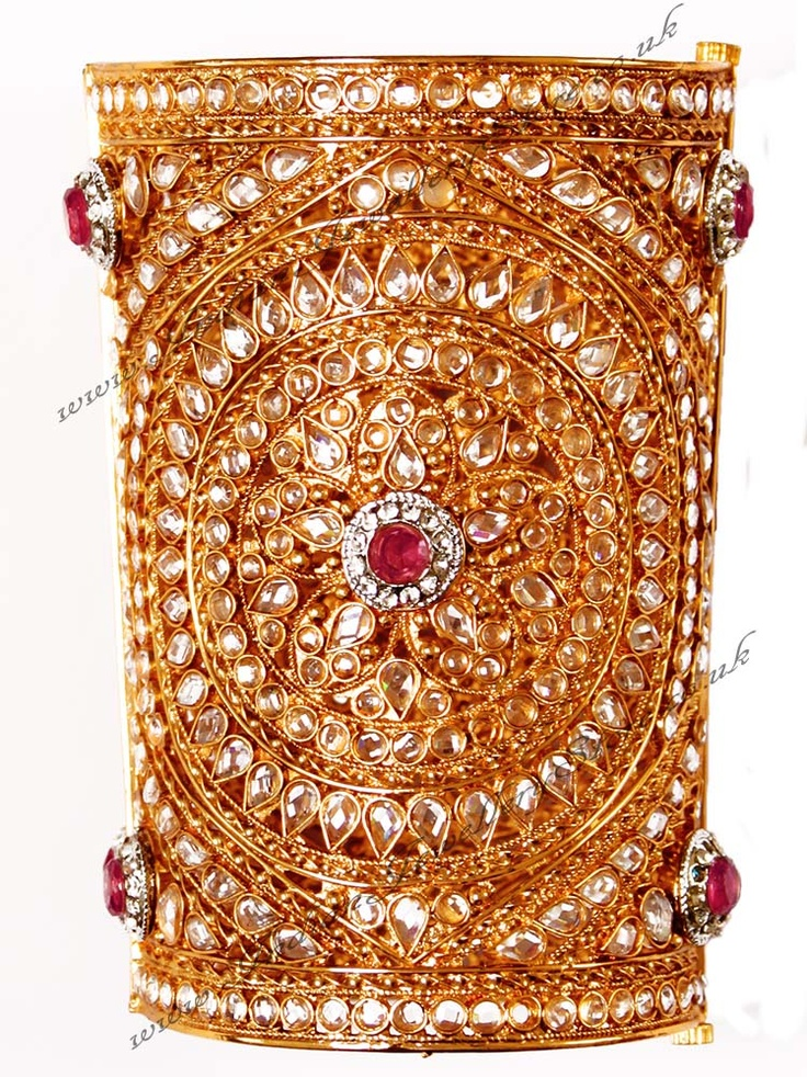 Indian Bangles | Indian Jewellery & Bridal Jewellery | Buy - Gold Polki Bangles ...