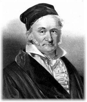 Carl Friedrich Gauss, mathematician