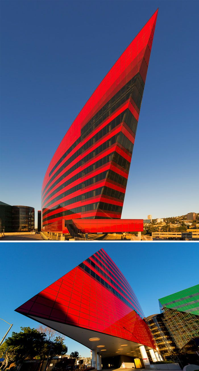 Pacific Design Center, Red Building, Hollywood, California, USA ✖️FOSTERGINGER AT PINTEREST ✖️ 感謝 / 谢谢 / Teşekkürler / благодаря / BEDANKT / VIELEN DANK / GRACIAS / THANKS : TO MY 10,000 FOLLOWERS✖️