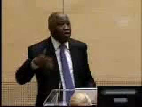 8ème jour Le président  Laurent Gbagbo s'adresse à la cour et aux Africains