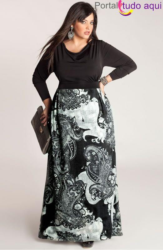Vestidos de festa, formatura, madrinha ou coquetel para gordinhas | Portal Tudo Aqui