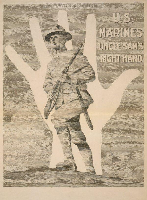 Examples of Propaganda from WW1 | American WW1 Propaganda Posters Page 163