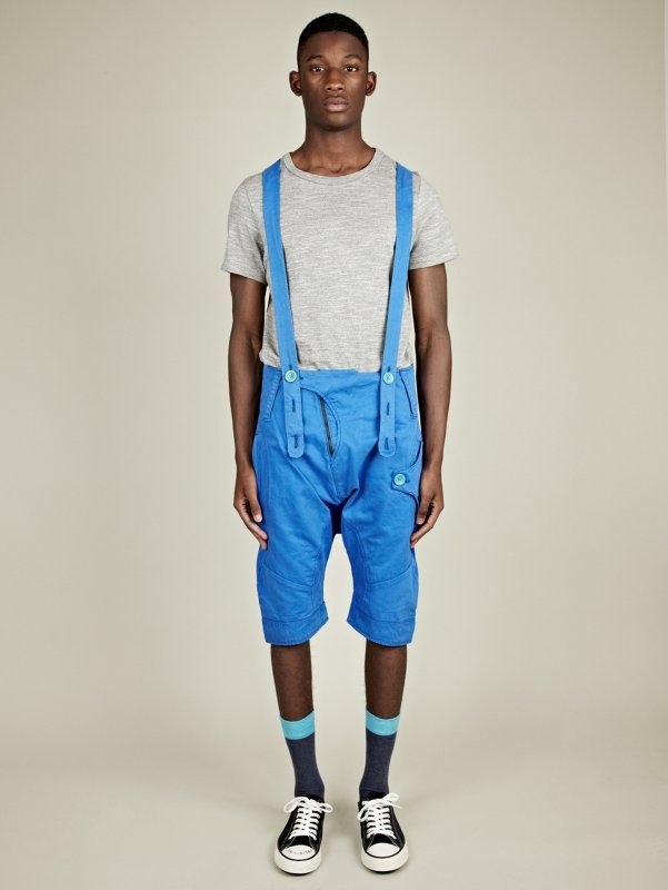 A big fashion come back is the Adult Dungarees. Especially for men, they are becoming more common as a fashion point of view, and look great if you wear it well.