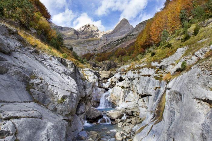 Parque nacional de ordesa y monte perdido en Aragón Huesca