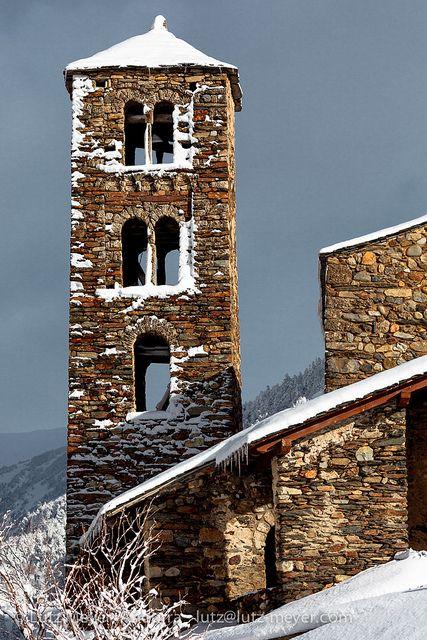 Andorra churches & chapels: Canillo  Sant Joan de  Caselles   Romanesque