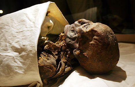 Cleopatra Mummy | Obese and ruthless, the pharoah who was King AND Queen of Egypt | Mail ...