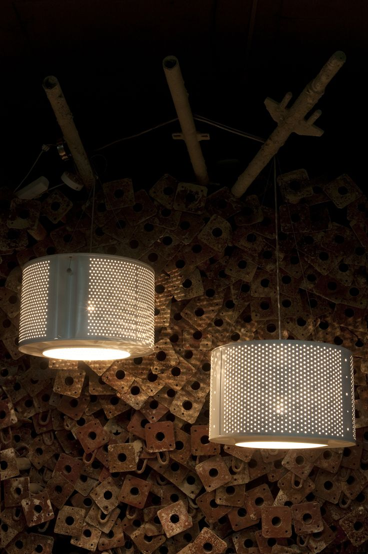 Best Lighting Images On Pinterest Lighting Ideas Pipe Lamp - Cool industrial style lamps made of washing machine parts