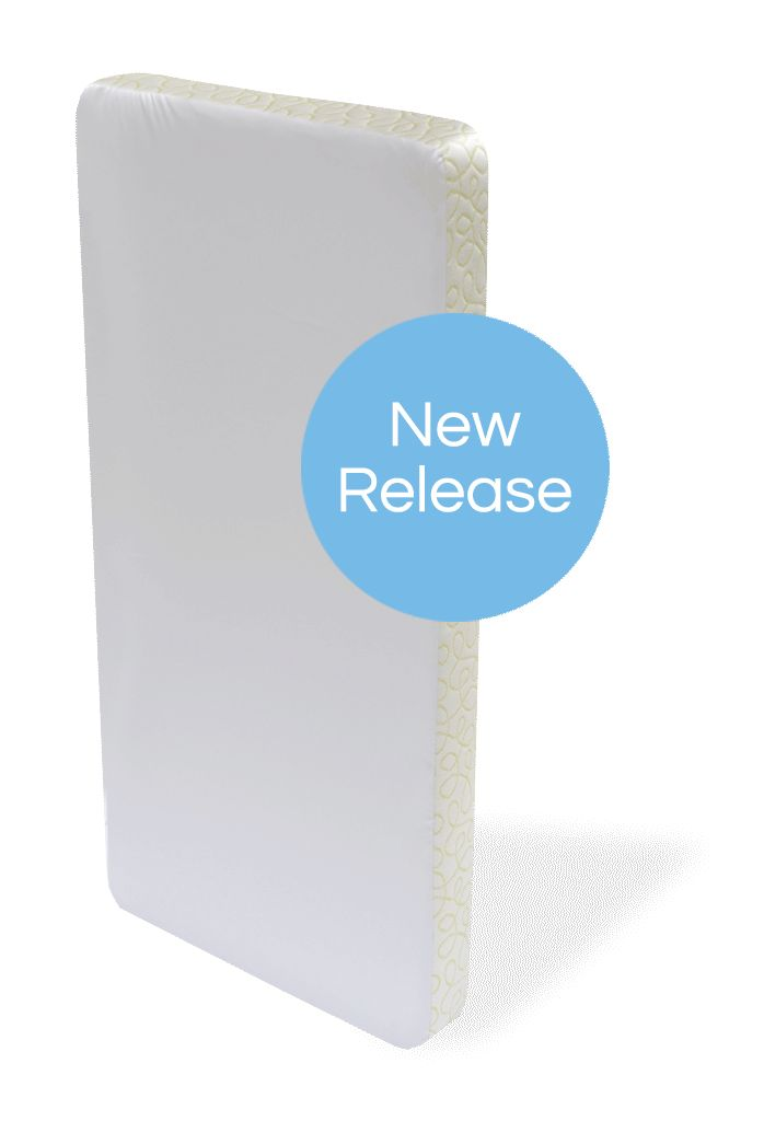 Be one of the first to pre-order the EverTrue™ Cuddle, a beautiful and modern crib mattress engineered to enhance air circulation for sound sleep, proper development and safety. The Squiggles model features a charming border fabric to make a bold statement in your nursery.