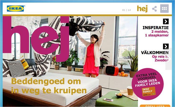 Ikea's Digitale Hej Magazine - Digital Magazine