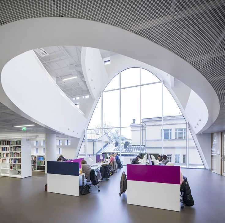 Helsinki University Main Library / Anttinen Oiva Architects